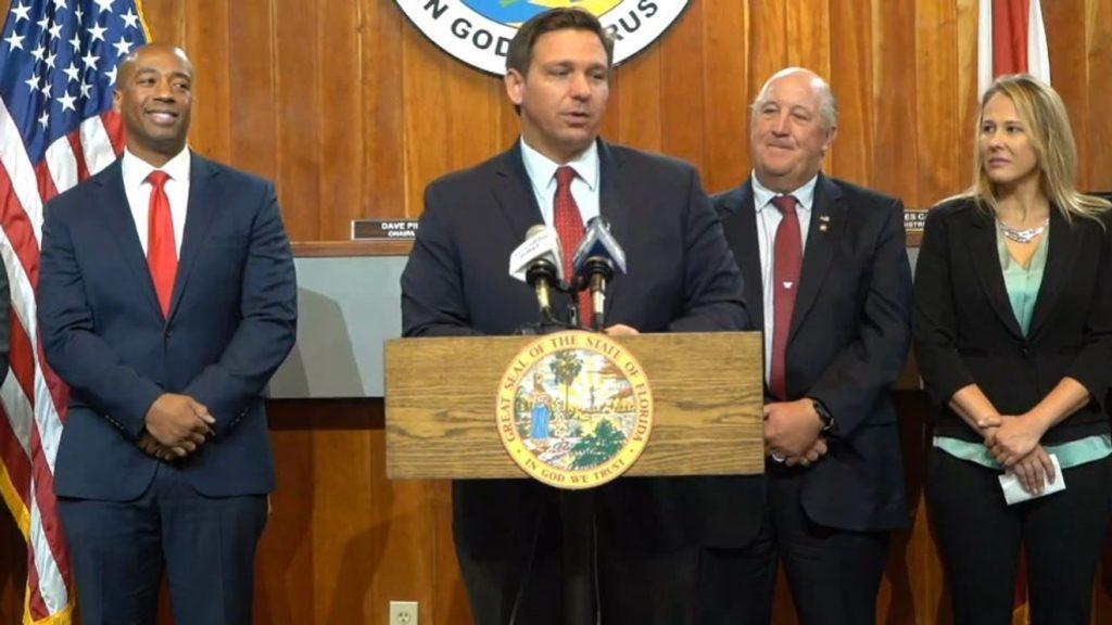 Gov. DeSantis announces over $800K for military communities in NWFL