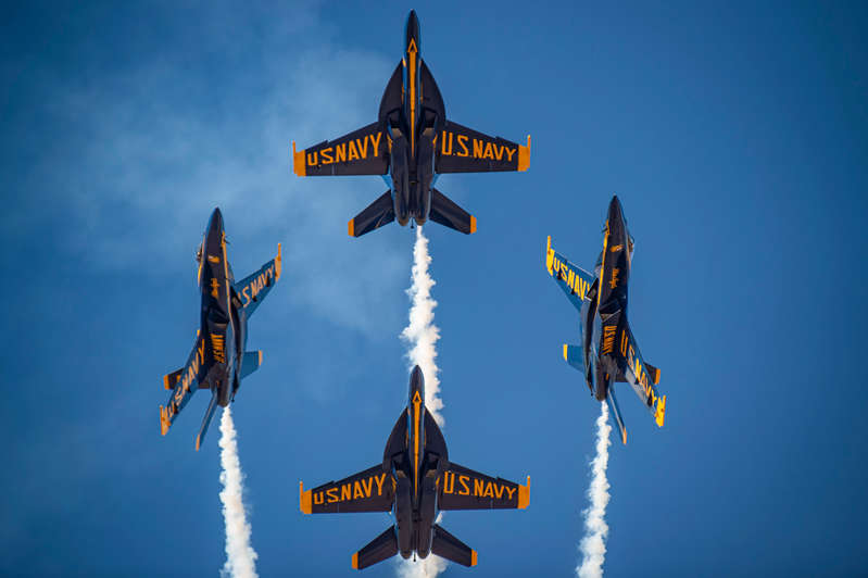 Blue Angels Homecoming Air Show will move to Pensacola Beach in November